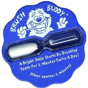 Brush Buddy 2 Minute Sand Timer for Kids Toothbrush Timer and Teeth Care