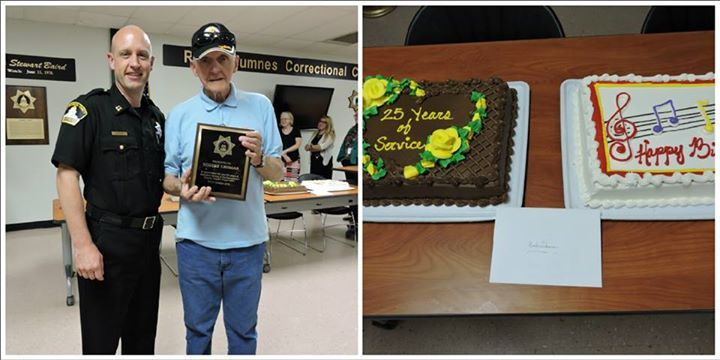 On August 5th, long time Sheriff's Department retiree and volunteer, Bob Lehman, celebrated his 90th birthday as well as 25 years of volunteer service to Sacramento County.   Born in Johnstown, Pennsylvania, Bob is one of the youngest Lehman boys. During WWII and Korean War there were 10 Lehman boys enlisted at one time all in the Army and they all came home safely. Bob was in the Army for 25 years. He was a member of General Douglas MacArthur's Color Guard in Japan from May 1948 until…