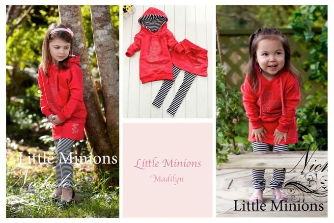 Little Minons' Madilyn Style Outfit - 2 to 5 years | Available on Diggit $34