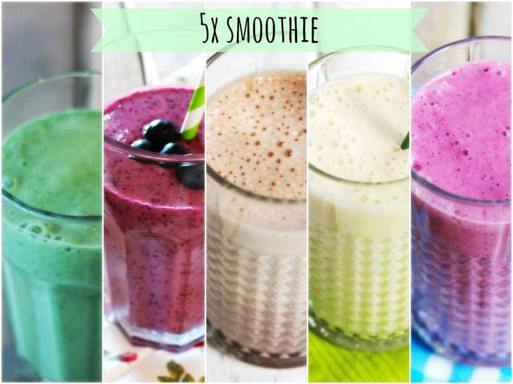 Op zoek naar lekkere smoothies? Dan ben je hier aan het juiste adres. We hebben onze favoriete smoothies op een rijtje gezet.