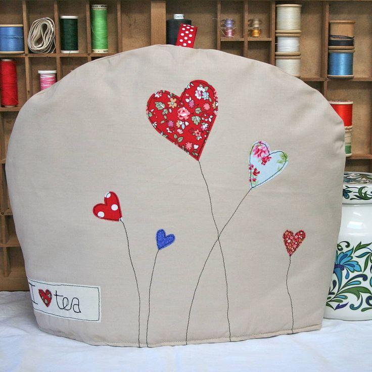 love heart tea cosy