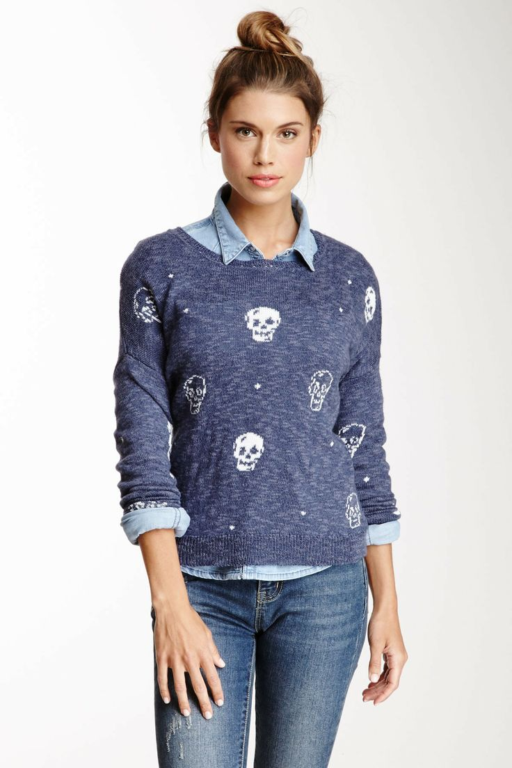 Skull Hi-Lo Sweater on HauteLook