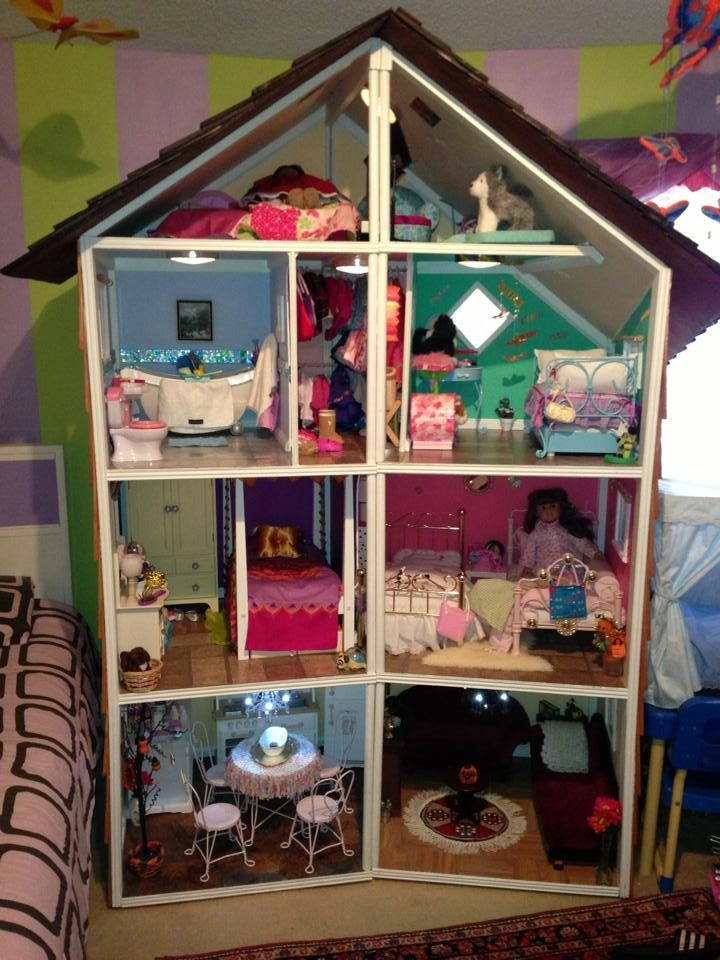 My Daughter American Doll House.