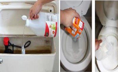 Elle verse du vinaigre blanc dans la cuvette des toilettes … Vous le ferez comme elle chaque Matin !!<br>http://www.astucesnaturelles.net/elle-verse-du-vinaigre-blanc-dans-la-cuvette-des-toilettes-vous-le-ferez-comme-elle-chaque-matin/