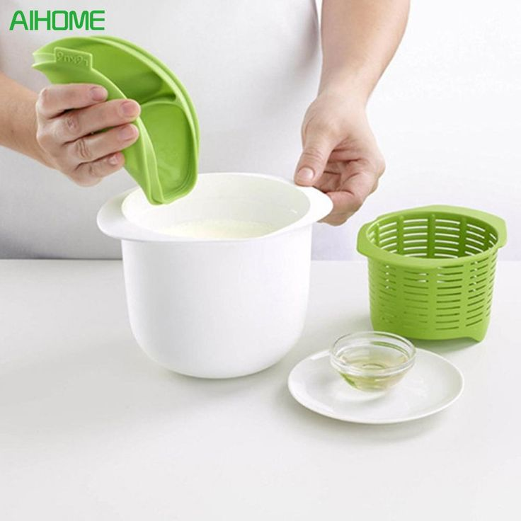 Cheese Maker Microwave Plastic Healthy For Making Cheese Contains Recipes Home Cooking Kitchen Dessert Pastry Pie Tool BPA Free
