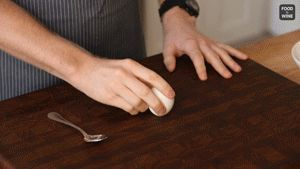 How to Peel Hard-Boiled Eggs with a Spoon