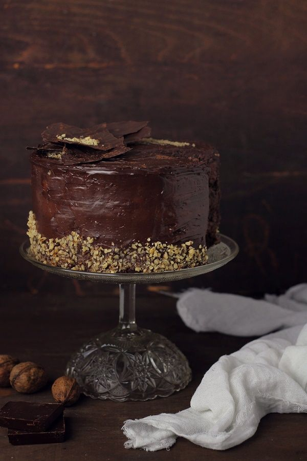 Chocolate Nut Cake | Pasiune Pentru Bucatarie