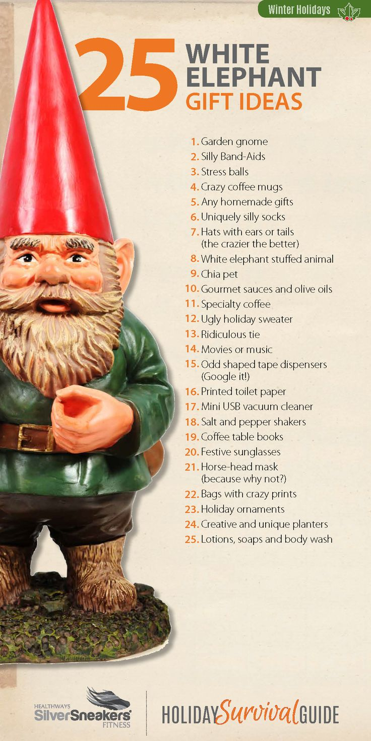 25 best white elephant gifts