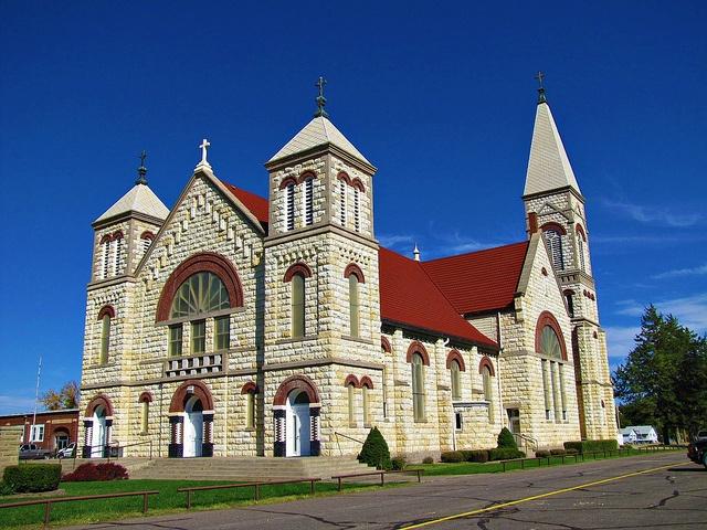 St. Marys Catholic Church -  Ellis, Kansas