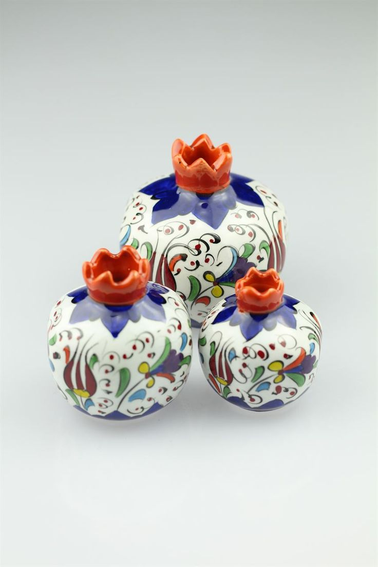 ceramic pomegranates