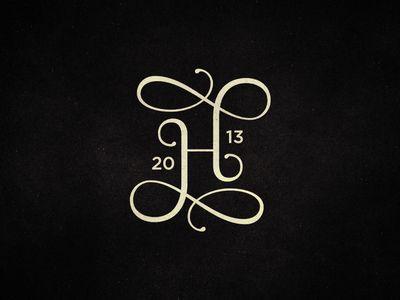 20 | H | 13 | Initial Logo | flourishes