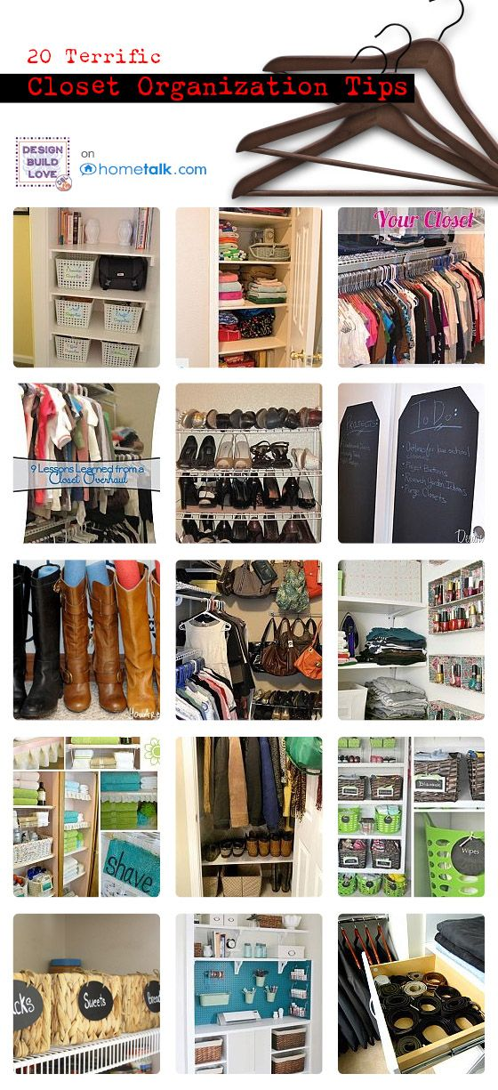 Organization Closet Ideas 101 best diy closet organization images on pinterest | home