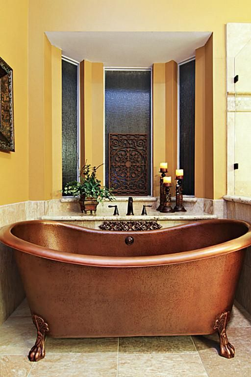 135 best copper bathtubs images on pinterest copper bathtub bathroom ideas and copper bathroom - Copper Bathtub