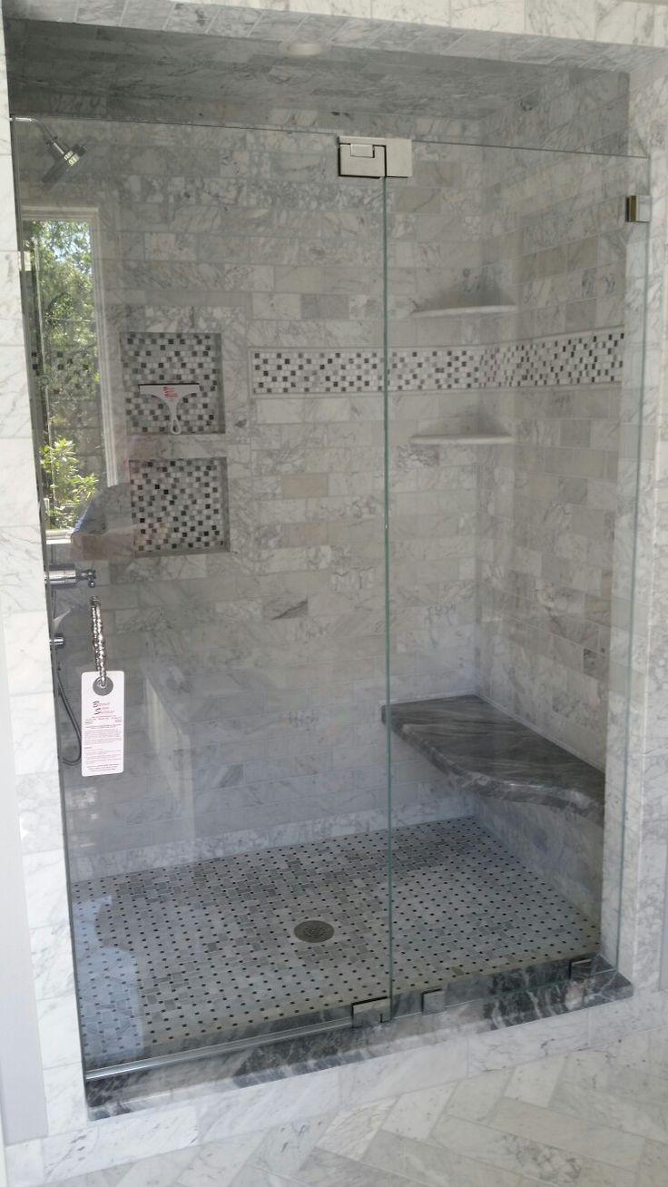 Frameless Shower Door Off Fixed Panel With 1 2 Quot Starphire