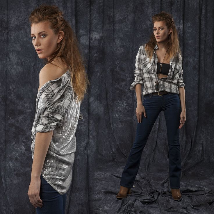 #jeansstore #fallwinter14 #fall #winter #autumn #autumnwinter14 #onlinestore #online #store #shopnow #shop #fashion #womencollection #women #photosession #session #studio #guess #shirt #efimia #white #clay #combo #comfort #rayon