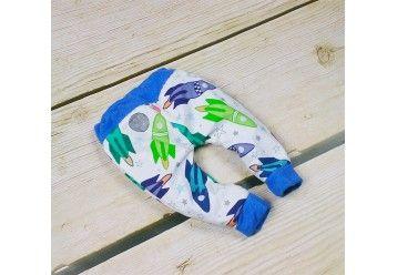 Reversible baby pants ORGANIC & BAMBOO