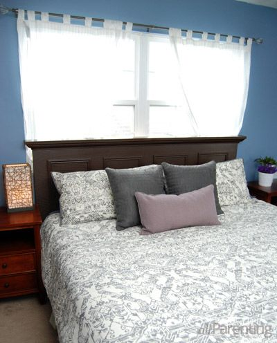 I 39 m making this headboard for our king size bed this for Easy to make headboards