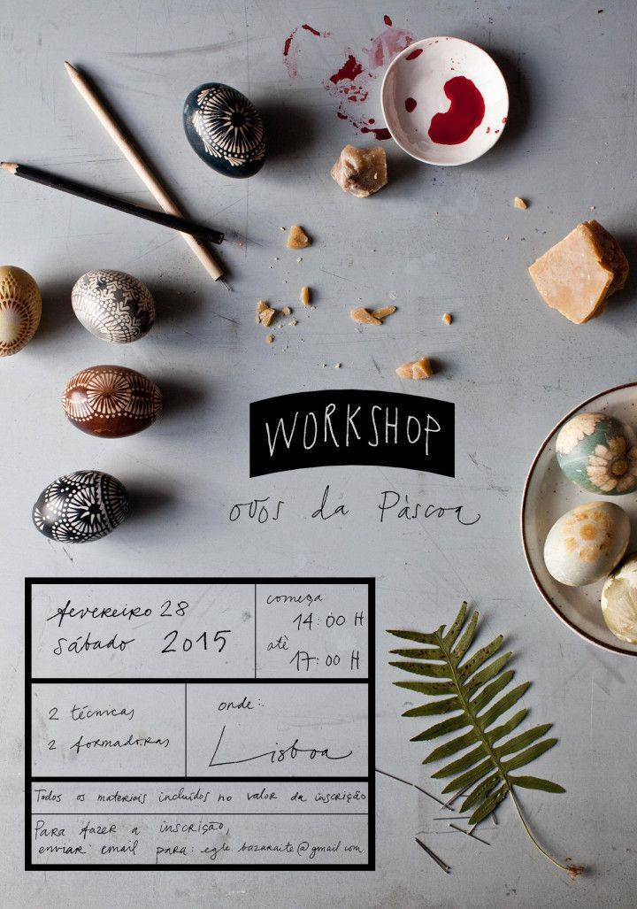 Workshop : Easter Eggs| Photography and Styling by Sanda Vuckovic