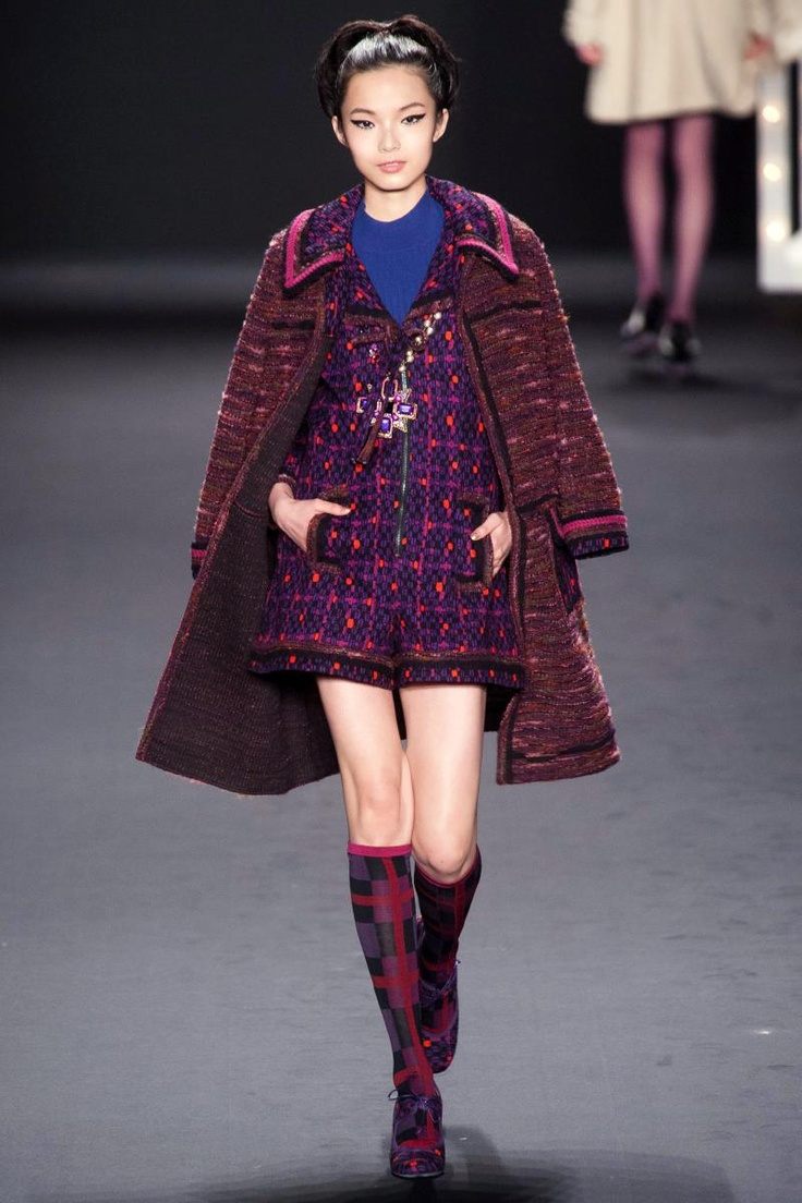 Anna Sui Fall 2013 RTW Collection - Fashion on TheCut