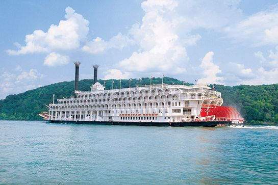 7 Cruises for People Who Hate Cruises #refinery29  http://www.refinery29.com/best-cruises#slide-3  The American Queen: Mississippi River Referred to as floating palaces by Mark Twain, Victorian steamboats are a symbol of a bygone era. The American Queen is the largest steamboat ever built and is the last remaining authentic one still offering overnight cruises in the U.S.   The ship cruises along the Mississippi River in a very Maverick-esque fashion, with a two-story grand saloon where you…