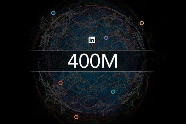 #Linkedin raggiunge i 400 milioni di utenti. #SocialNetwork #SMM