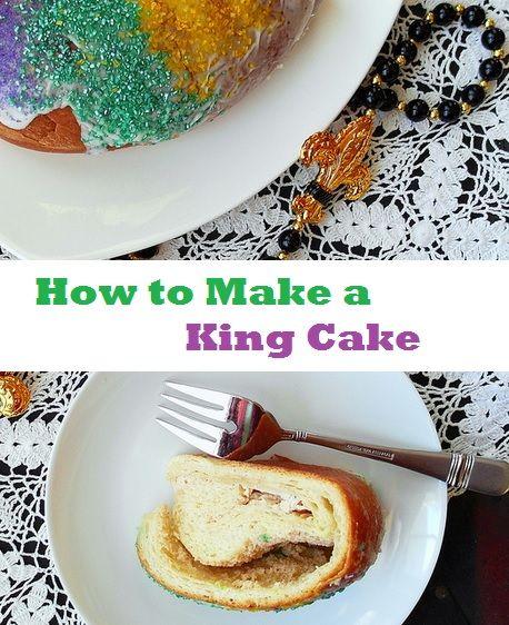 Mardi gras king cake recipe history