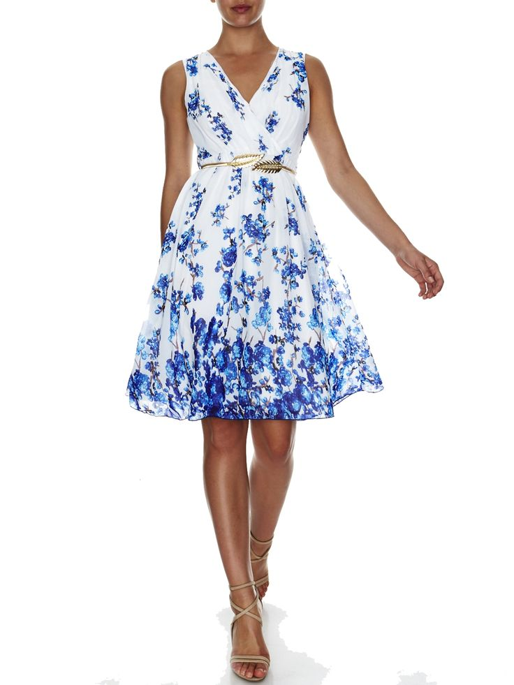 Garden Party Print Dress   Evening Dresses, Formal Dresses, Cocktail Dresses, Bridemaid dresses and Mother of the Bride at Will Hope Love