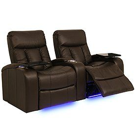 Seatcraft 841 Signature Series Verona Home Theater Seating with Power Recline, Row of 2 - Chocolate by Seatcraft. $1909.20. The contemporary design of this home theater group features plush seats and three-section backs, all crafted for comfort and lasting performance. A generously padded headrest assures for plenty of relaxing support. Gently
