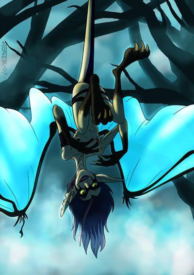 scary Sennyo  by Bleupencil