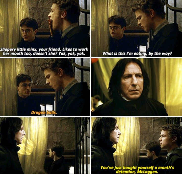 Harry Potter. One of the most iconic and under appreciated moments in The Half-blood Prince