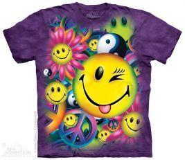 Tričko Mír a radost