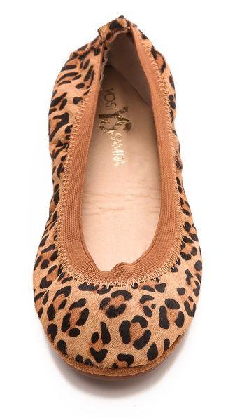 Yosi Samra Samara Leopard Haircalf Flats have these and love them