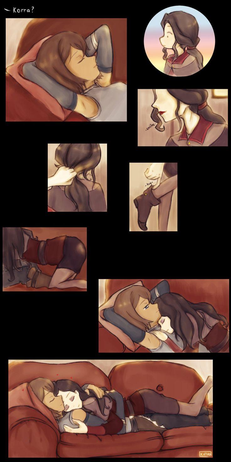 lesbian Korra and comics asami hentai