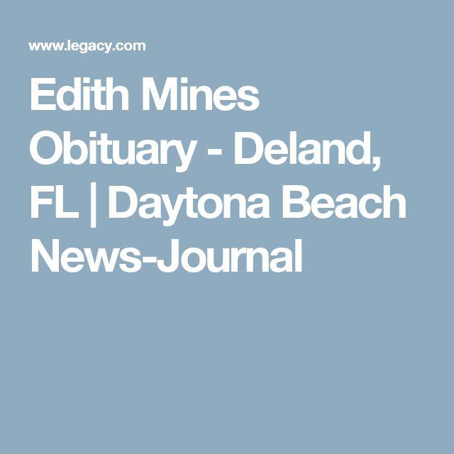 Edith Mines Obituary - Deland, FL | Daytona Beach News-Journal