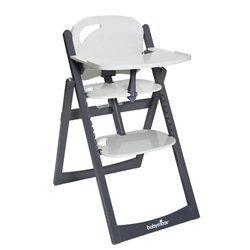 La chaise haute Light Wood Zinc Aluminium