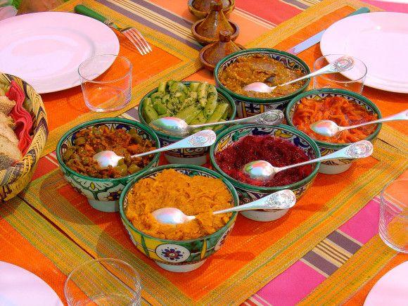Recettes de salades marocaines
