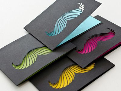 Dribbble - Card Collection * Paperworks by steffen