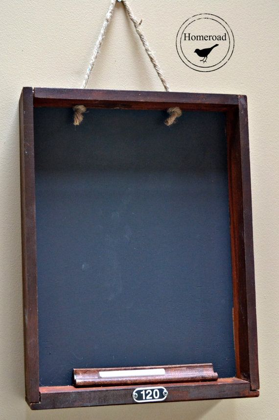 Vintage Drawer Chalkboard by Homeroad on Etsy