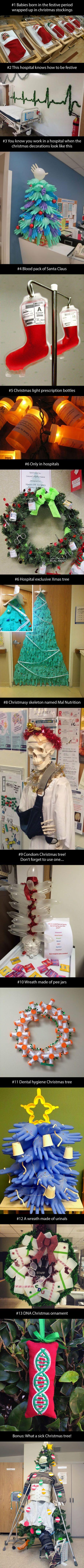 Kick ass hospital decorations!
