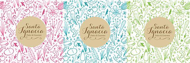 Grilla ilustrativa mazapanes Santa Ignacia