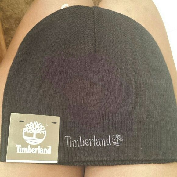 Timberland Beanie Hat Black Never Worn Timberland Hat. Price negotiable. Timberland Accessories Hats