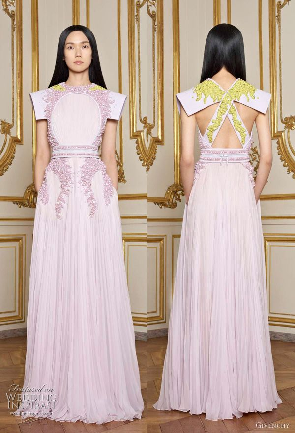 Riccardo Tisci, eastern influenced Spring 2011 couture collection for Givenchy