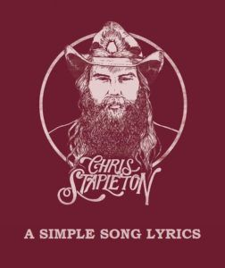 Description:- A SIMPLE SONG is the new upcoming english song of album FROM A ROOM: VOLUME 2. Which is Sung by CHRIS STAPLETON. Mercury Nashville is the music label. Producer of this album is Dave Cobb and Chris Stapleton. RCA Studio A which is situated in Nashville is the studio where songs has recorded.