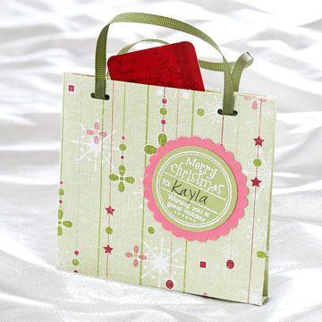 Pretty Purse Gift Card Holder