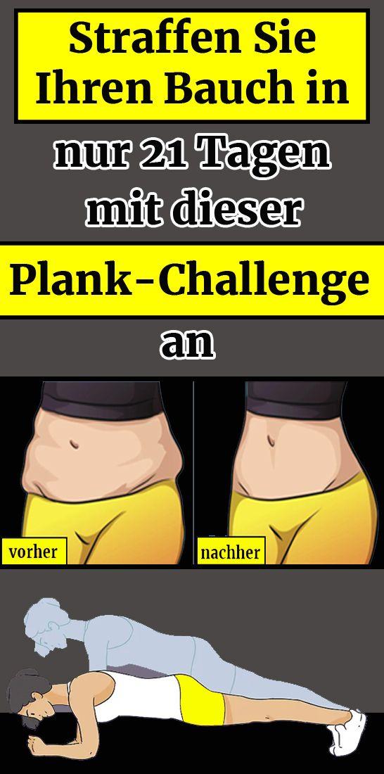 Straffen Sie Ihren Bauch in nur 21 Tagen mit dieser Plank-Challenge an – olga