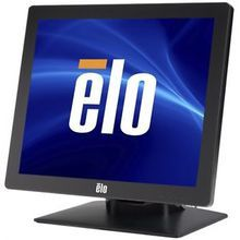 Elo 1717L iTouch (SAW), USB/RS232 Controller, VGA, LED Backlght, 17 Inches Monitor, Black, E017030
