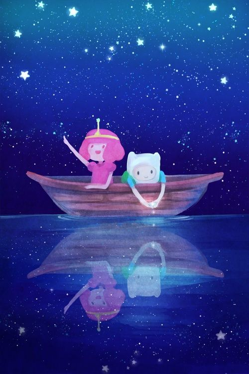Adventure time princesa jujuba jovem e finn  .