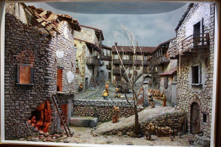Raccolta fotografica di scenografie presepiali realizzate dal 1988 al 2015