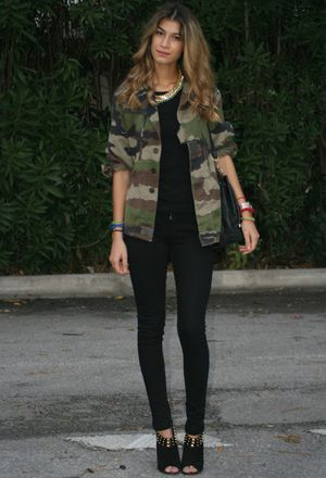 Look by @liviahenrique with #parka #bershka #zara #monos #jacket #pants #militar #necklace #chanel #chaquetas #chic #streetstyle #camuflaje #military #bags #verde #diario #camo #outfits #army #daily #looks.