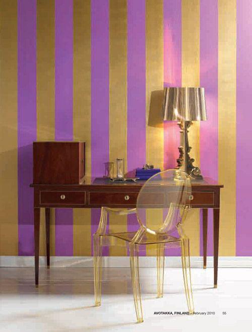 e4ecd6bffdc9117d061cc7c69c67fd6f  lampe kartell striped accent walls 5 Incroyable Lampe à Poser Kartell Kqk9